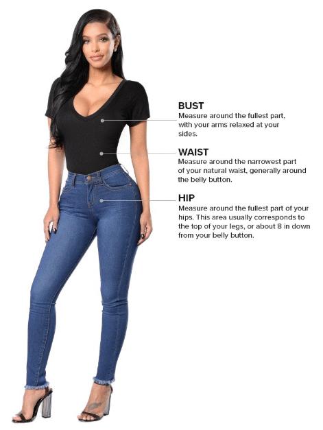 fashionnova sizes