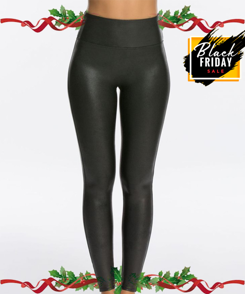 spanx leather leggins black friday